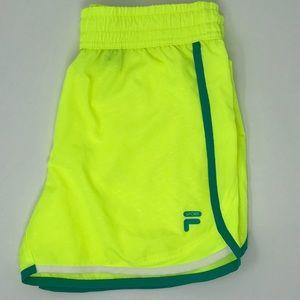 Neon FILA Shorts